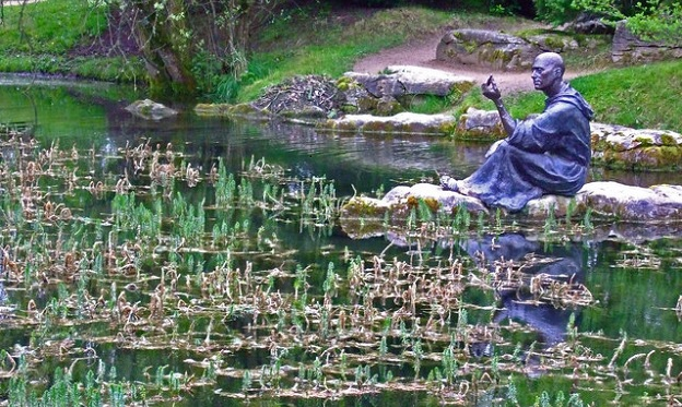 St. Fiachra at the St. Fiachra's Garden