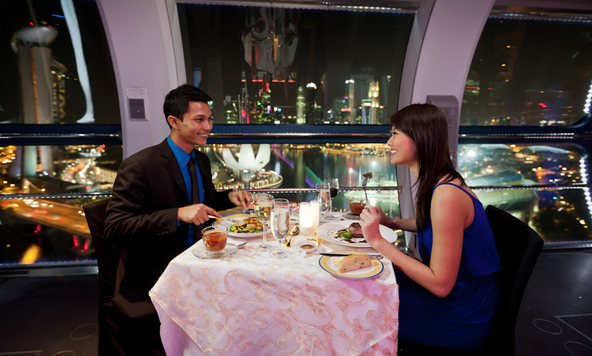 romantic restaurants in Singapore 2014